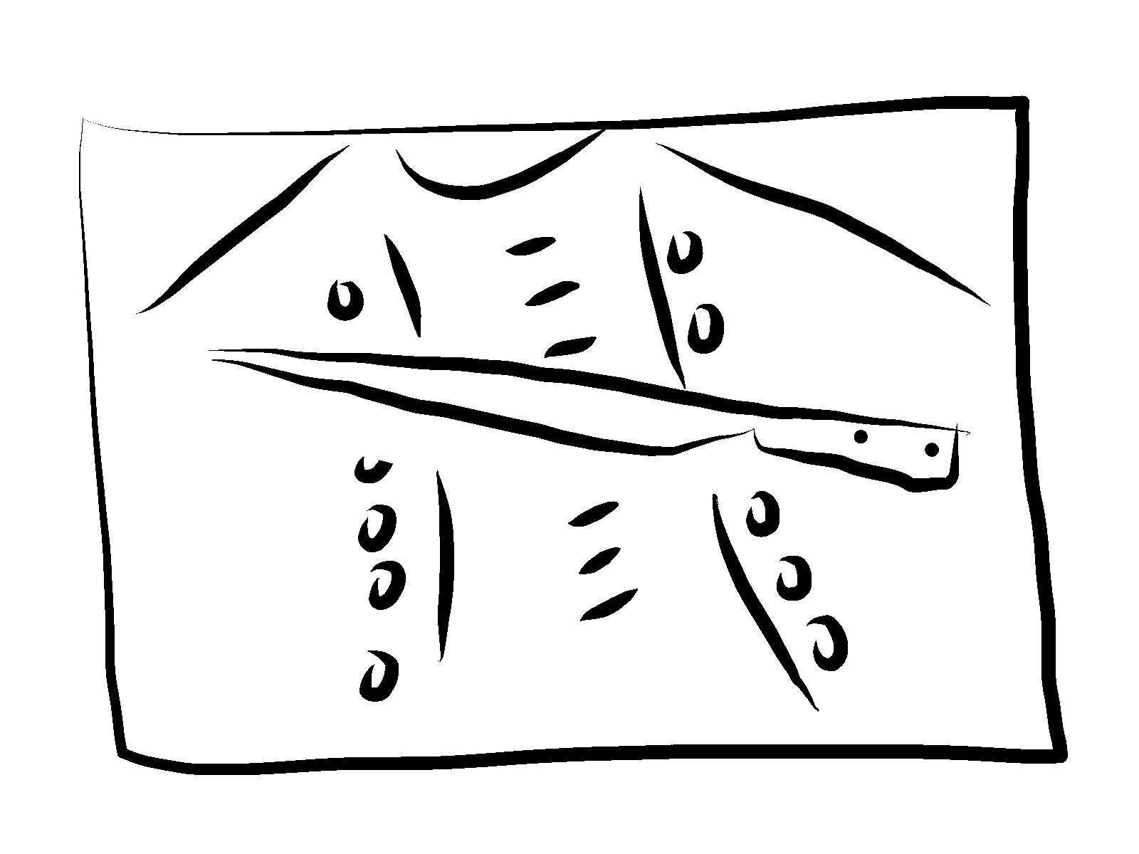 Coltello e grembiule / Knife and apron