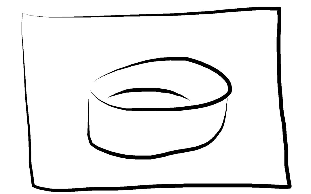 Portatovagliolo verde / Green napkin ring